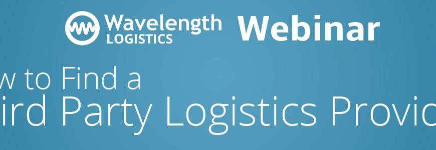 Wavelength 3pl Webinar